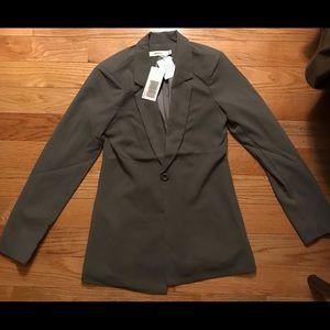 Work blazer grey just fab xs